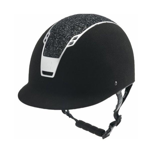 EQ Priority hjelm suede/glitter