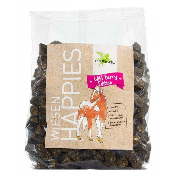 PARISOL Happies hestesnacks Wild Berry 1 kg
