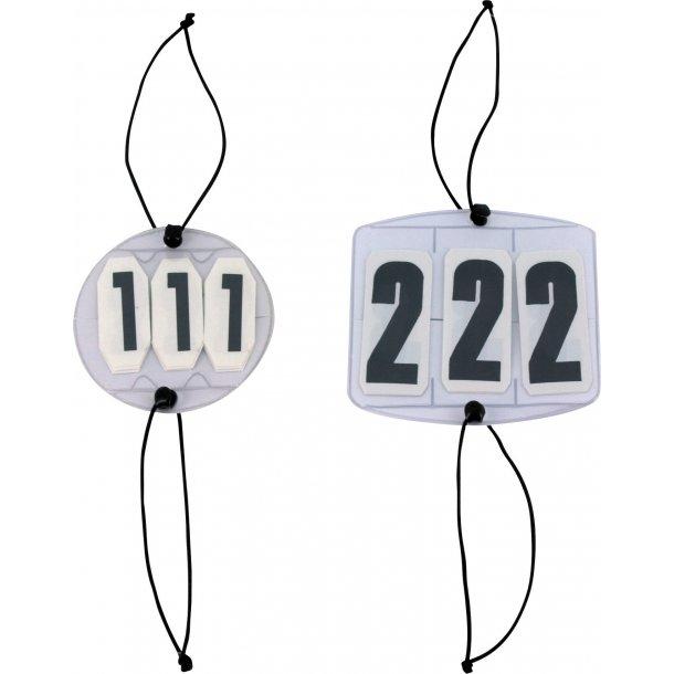 Stævnenummer. 2 styks