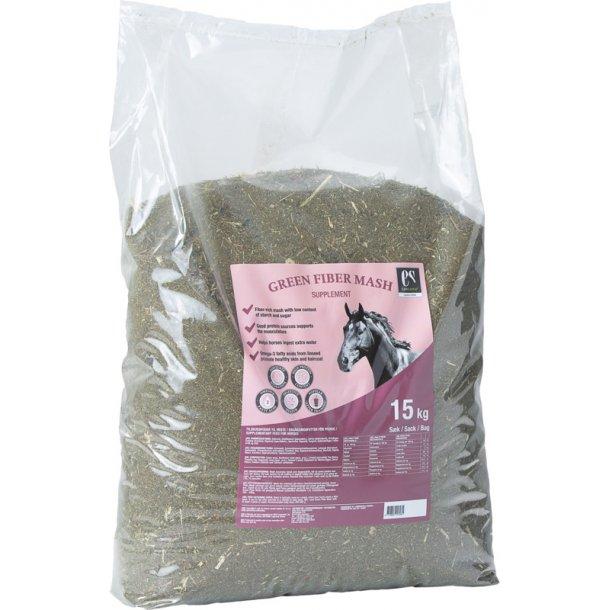 Equsana Green Fiber Mash, 15 kg