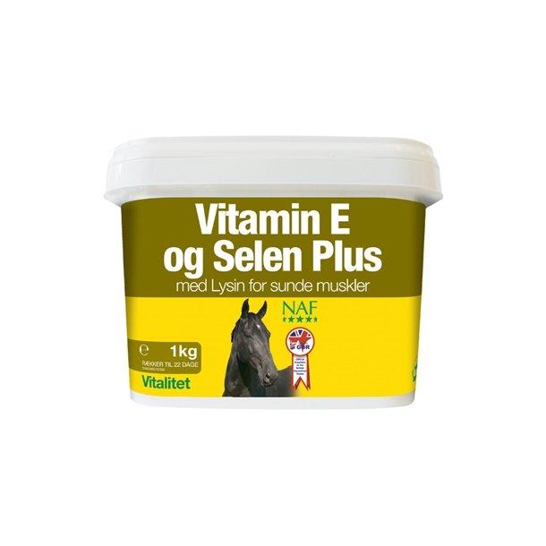 NAF Vitamin E og Selen Plus