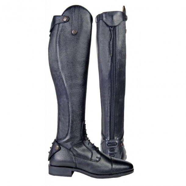 LATINIUM STYLE Ridestøvler. Ekstra lang/XL-bredde