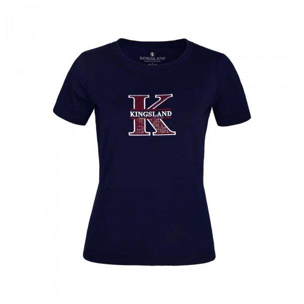 KLlalita t-shirt med rund udskæring dame