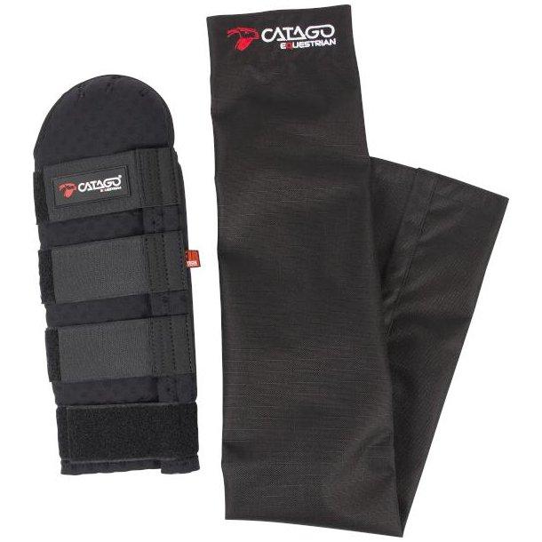 CATAGO FIR-Tech Healing halebeskytter m. pose