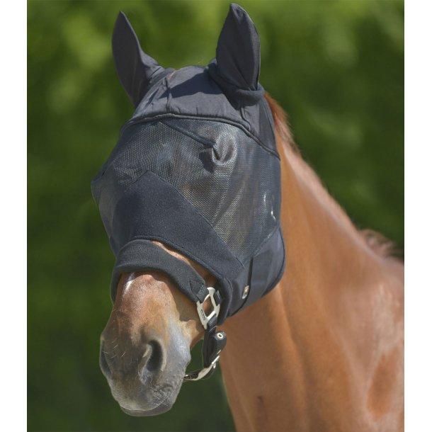Premium fluemaske med ørebeskyttelse