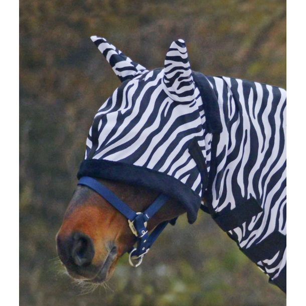 Zebra insekt maske