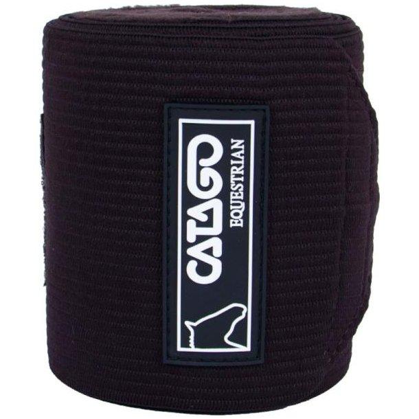 Catago Fleece/elastik Bandager, brun